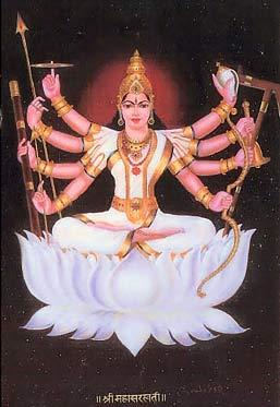 Maa Maha Saraswati